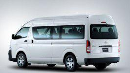 Rental Mobil Toyota Hiace Commuter